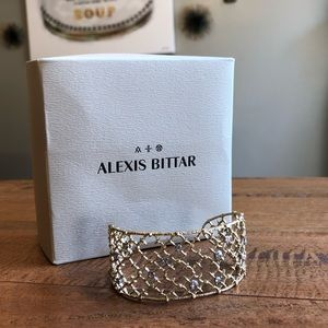 Alexis Bittar Crystal Studded Spur Lace Cuff